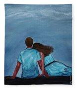 Night Love Fleece Blanket