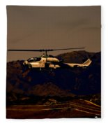 Night Mission Fleece Blanket