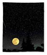 Night Moves Fleece Blanket