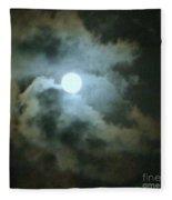 Night Of The Moon Fleece Blanket