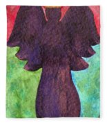 Night Shift Angel Fleece Blanket