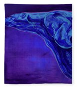 Night Swimmer Fleece Blanket