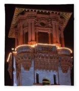 Night Tower Fleece Blanket