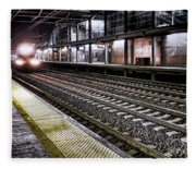Night Train Fleece Blanket