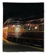 Night Train Fleece Blanket