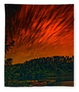Nightfire Fleece Blanket