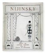 Nijinsky Title Page Fleece Blanket