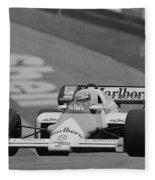 Niki Lauda. 1984 British Grand Prix Fleece Blanket