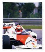 Niki Lauda. 1985 Portuguese Grand Prix Fleece Blanket