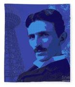 Nikola Tesla #2 Fleece Blanket