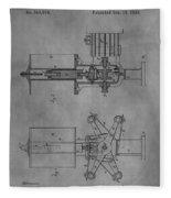 Nikola Tesla's Patent Fleece Blanket