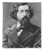 Nikolai Chernyshevsky (1828-1889) Fleece Blanket