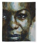 Nina Simone Ain't Got No Fleece Blanket