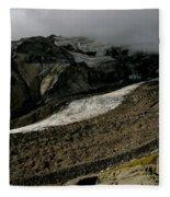 Nisqually Glacier Fleece Blanket