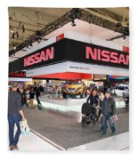 Nissan Area Fleece Blanket