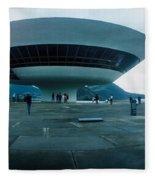 Niteroi Contemporary Art Museum Fleece Blanket