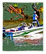 Nitro Bass Boats Fleece Blanket