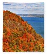 N.j. Palisades Awesome Autumn  Fleece Blanket