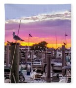 Nj's Sunset Fleece Blanket