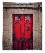 No. 24 - The Red Door Fleece Blanket