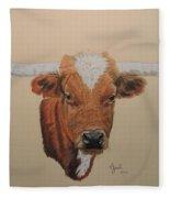 No Bull Fleece Blanket