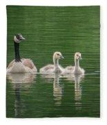 Geese Family Fleece Blanket