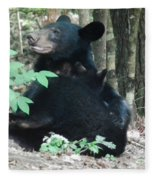 Bear - Cubs - Mother Nursing Fleece Blanket