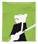 No006 My Teddy Bears Minimal Music Poster Fleece Blanket