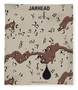 No045 My Jarhead Minimal Movie Poster Fleece Blanket