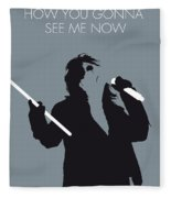 No047 My Alice Cooper Minimal Music Poster Fleece Blanket