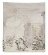 No.0613 The West Room And The Dome Room Fleece Blanket