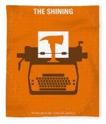 No094 My The Shining Minimal Movie Poster Fleece Blanket
