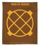 No099 My Men Of Honor Minimal Movie Poster Fleece Blanket
