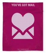 No107 My Youve Got Mail Movie Poster Fleece Blanket