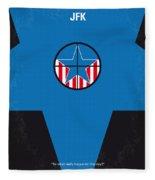 No111 My Jfk Movie Poster Fleece Blanket