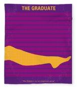 No135 My The Graduate Minimal Movie Poster Fleece Blanket