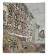 No.1590 Palazzo Agostini, Pisa, 1845 Fleece Blanket