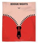 No167 My Boogie Nights Minimal Movie Poster Fleece Blanket