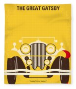 No206 My The Great Gatsby Minimal Movie Poster Fleece Blanket