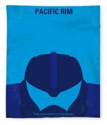 No306 My Pacific Rim Minimal Movie Poster Fleece Blanket
