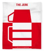 No350 My The Jerk Minimal Movie Poster Fleece Blanket