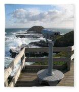 The Nobbies Outlook - Great Ocean Road, Australia Fleece Blanket