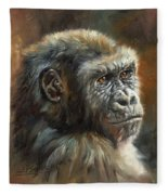 Noble Ape Fleece Blanket