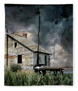 Nobody's Home Fleece Blanket