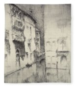 Nocturne Palaces Fleece Blanket