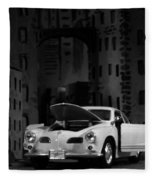 Noir City Fleece Blanket