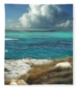 Nonsuch Bay Antigua Fleece Blanket