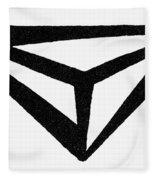 Nordic Rune Fleece Blanket