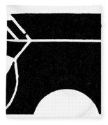 Nordic Symbol Anvil Fleece Blanket