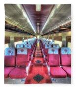 Norfolk And Western Passenger Coach Fleece Blanket